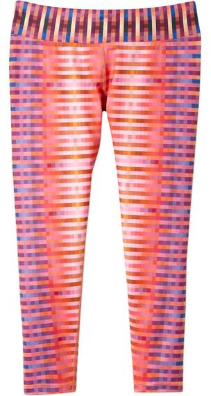 Prana W's Roxanne Capri Orange Pixel